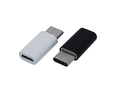 USB C TYTEP 公座转MICRO USB 5F快塑壳式