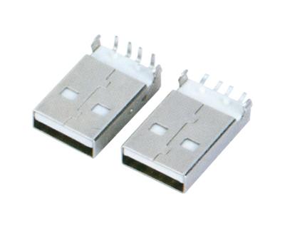 USB AM  90°DIP SMT 正向