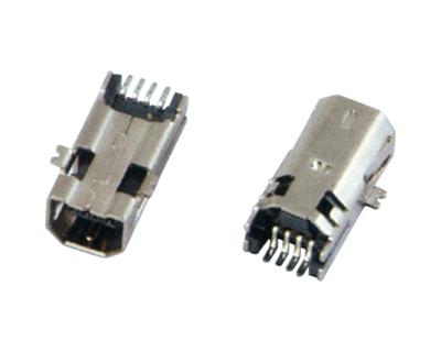 MINI USB 4F B TYPE SMT
