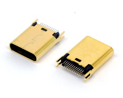 USB C TYPE 夹板1.0长体母座H=10.45