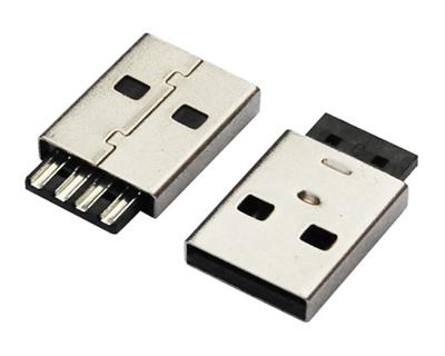 USB AM 焊线 短体 L=15.20