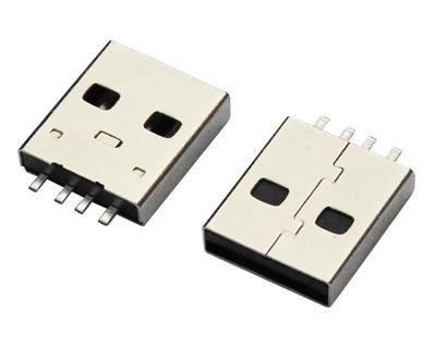 USB AM 焊线 短体 L=14.0