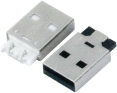 USB AM SMT 鱼叉脚