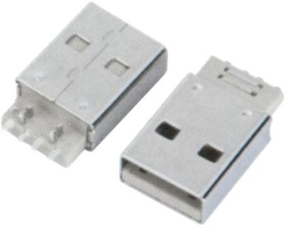 USB AM SMT 四脚定位