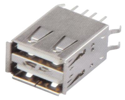 USB AF 双层 180°DIP 长体 L=17.0