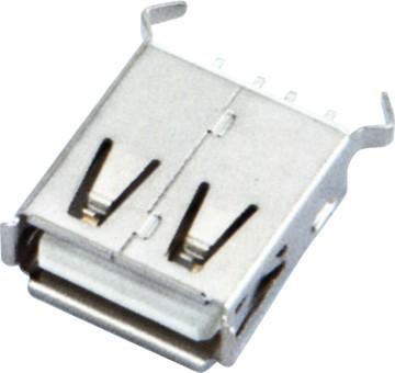 USB AF 180°DIP L=15.0