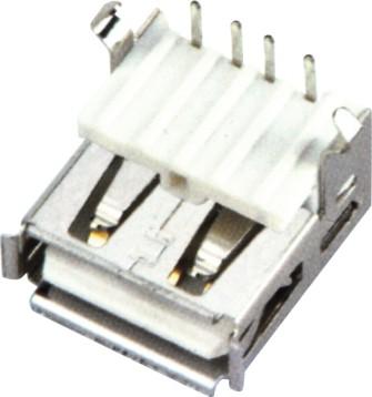USB AF 90°DIP 加高型