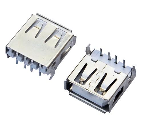 USB AF 90°DIP 沉板式