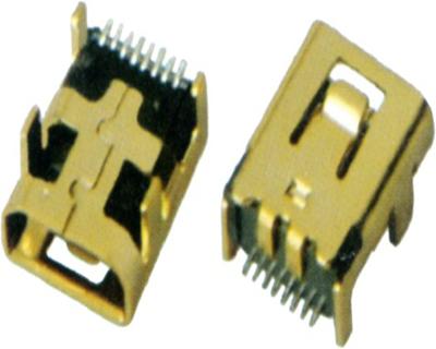 MINI USB 8F SMT 四脚 DIP