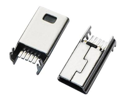 MINI USB 5M B TYPE SMT鱼叉脚