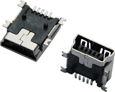 MINI USB 5F B TYPE SMT