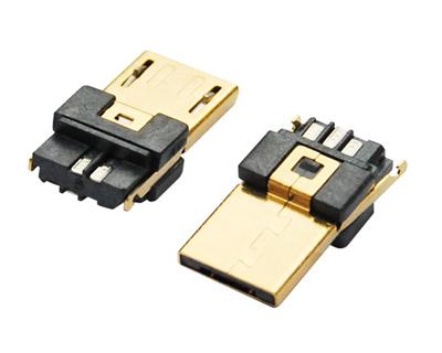 MICRO USB 5M A TYPE 焊线式