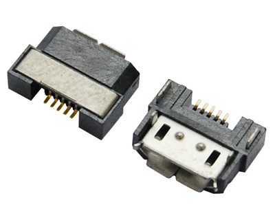 MICRO USB 5F B TYPE 半包 反向
