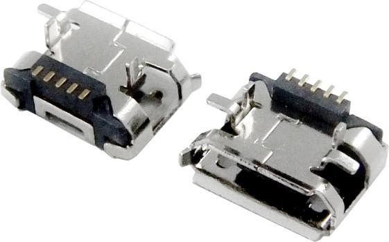 MICRO USB 5F B TYPE SMT 加高型