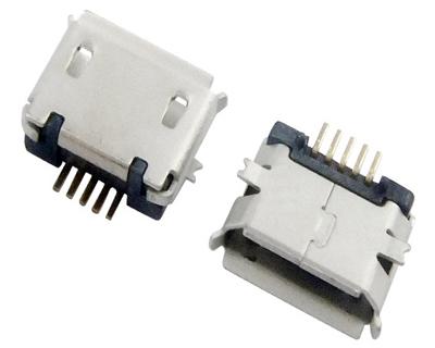 MICRO USB 5F B TYPE SMT 端子加长0.75