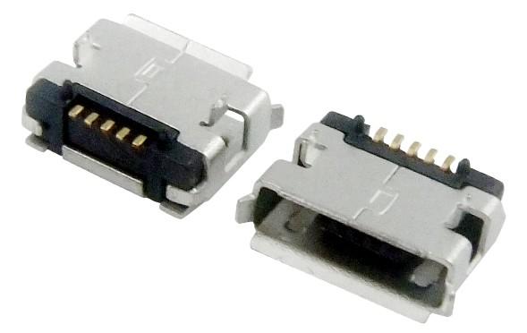 MICRO USB 5F AB TYPE DIP 5.65