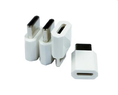广州USB Type c公头对Micro usb母头转接头