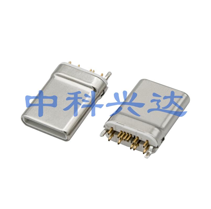 USB TYPE-C PLUG 12PIN CLIP PCB
