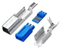 USB 3.0 BM 焊线 四件式