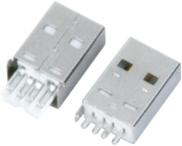 USB AM 焊线 短体 一件式 L=20.40