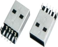 USB AM SMT 普通沉板式