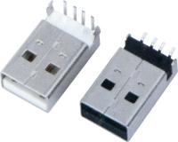 USB AM  90°DIP SMT 反向