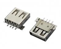 浙江USB AF SMT 宽脚 平口