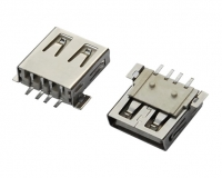 USB AF SMT 宽脚 平口