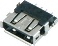 USB AF SMT 沉板式 四脚 反向
