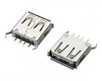 浙江USB AF 180°DIP L=13.0