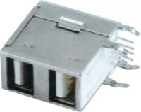 USB AF 90°DIP 双层 全包