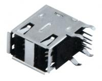 USB AF 90°DIP 双层 半包