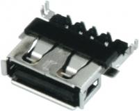 浙江USB AF 90°DIP 沉板式 四脚