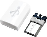 MICRO USB 5M B TYPE 焊线+护套