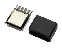 MICRO USB 5F B TYPE 焊线+护套