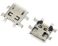 MICRO USB 5F B TYPE 沉板 0.90 六脚