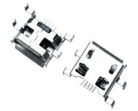 MICRO USB 5F B TYPE 沉板 0.72 四脚弯插
