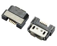 上海MICRO USB 5F B TYPE 半包 反向