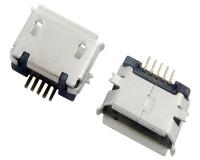 成都MICRO USB 5F B TYPE SMT 端子加长0.75