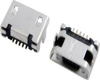 MICRO USB 5F B TYPE DIP 7.20+焊盘