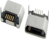 上海MICRO USB 5F B TYPE DIP 7.20 无卷边 两后脚