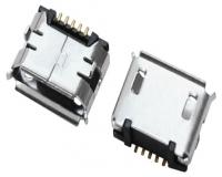 上海MICRO USB 5F B TYPE DIP 6.40
