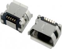MICRO USB 5F B TYPE DIP 5.65+焊盘