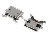 上海MICRO USB 5F AB TYPE 沉板0.70 四脚 DIP 10.0-8.10