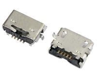 MICRO USB 5F AB TYPE SMT 无边 斜口