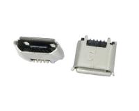 上海MICRO USB 5F B TYPE 180度SMT有柱有卷边