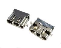 成都HDMI 19PIN 母座反向沉板式