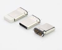 USB TYPE-C PLUG 16PIN CLIP PCB