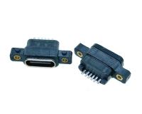 常州type c 6pin防水型带螺水孔
