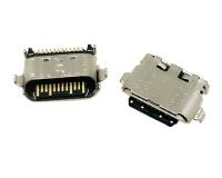 TYPE C F 24PIN 平口沉板1.60 舌片外露2.40mm
